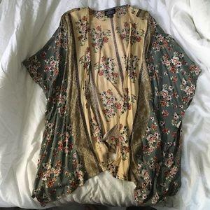 Vintage Floral Kimono